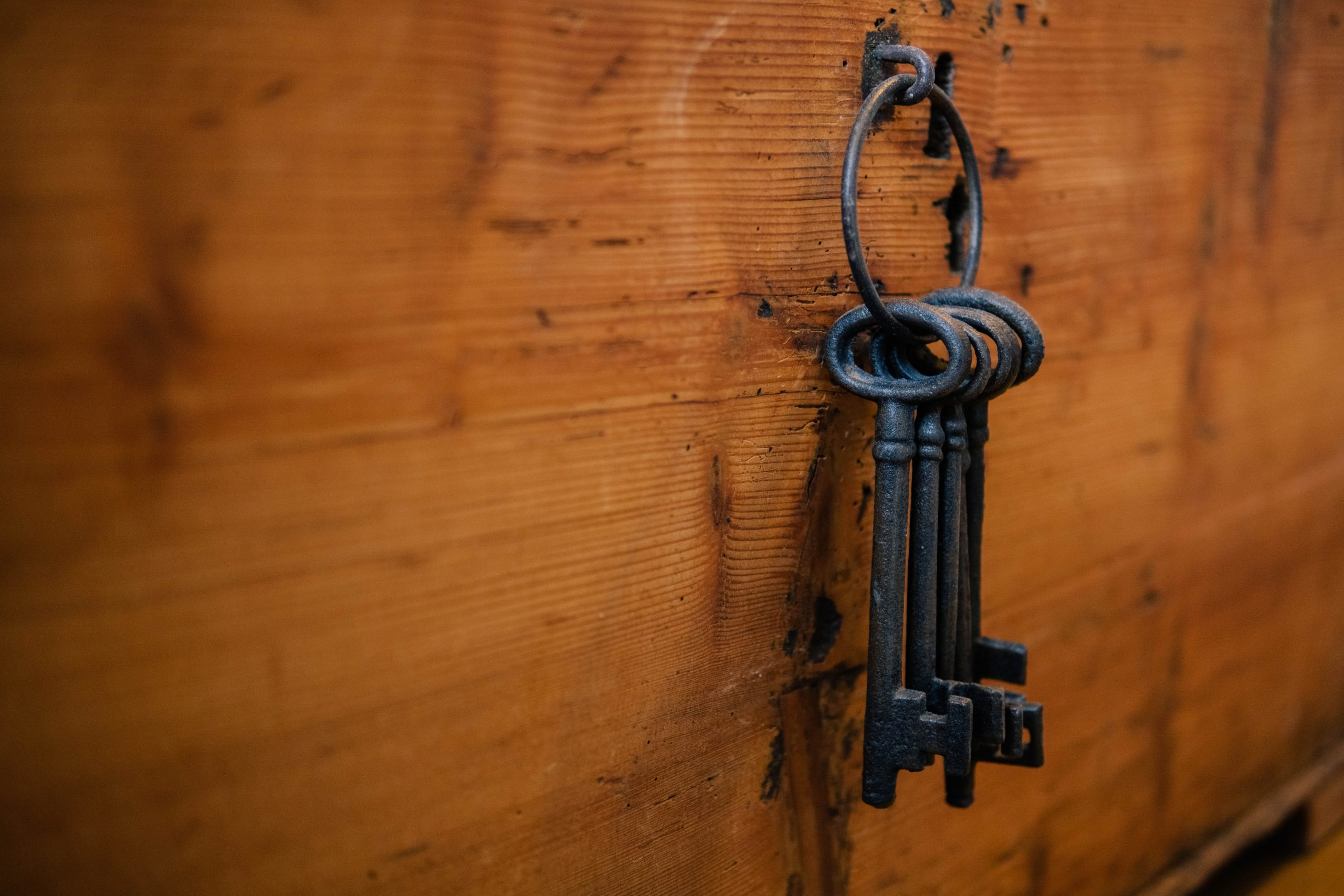 picture of old style mortice keys