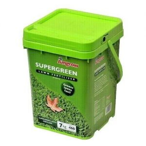 Green 7kg bucket of Amgrow Fertiliser
