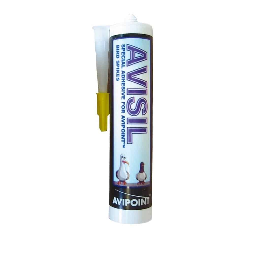 Avisil adhesive used for bird spikes of all sizes