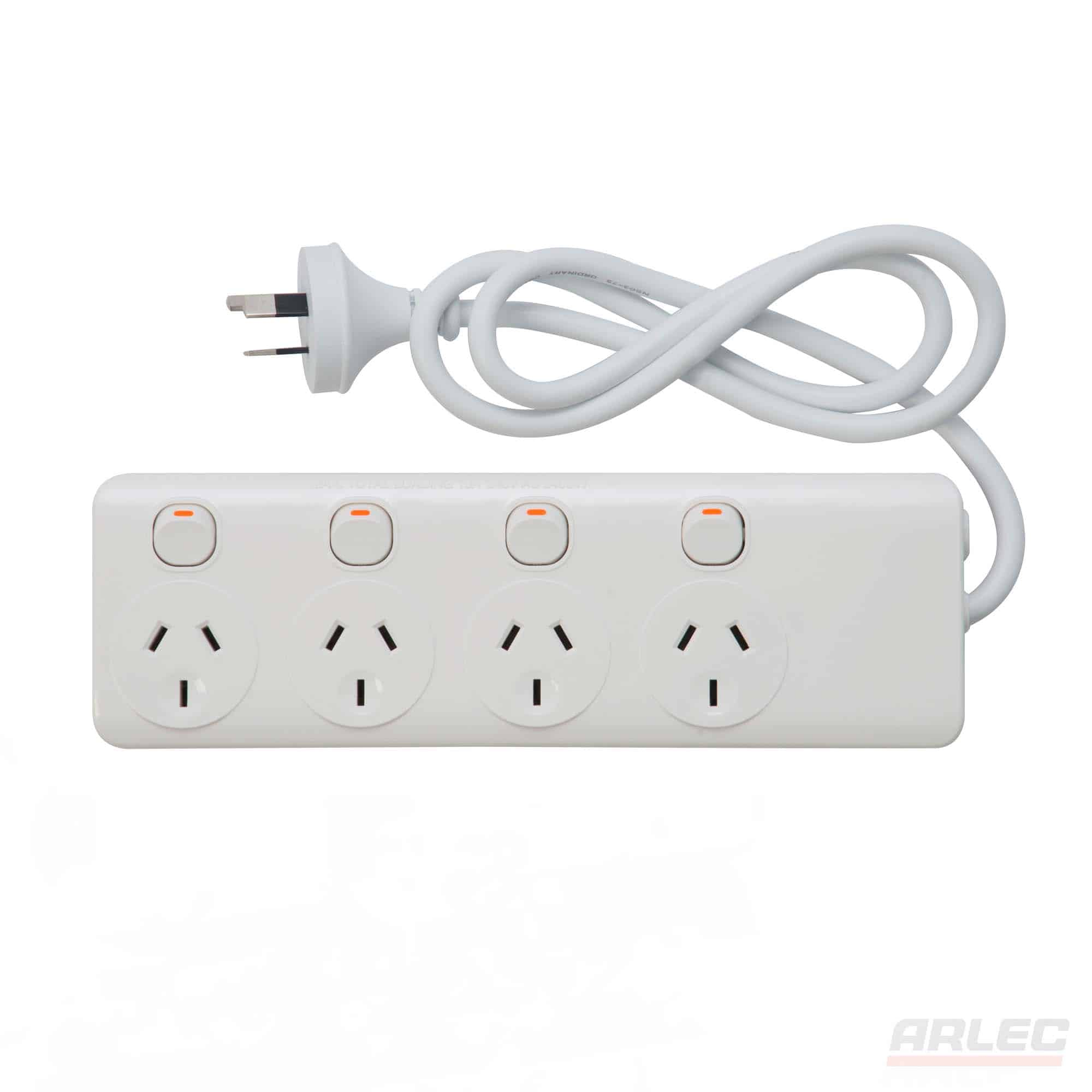 4 outlet individually switch