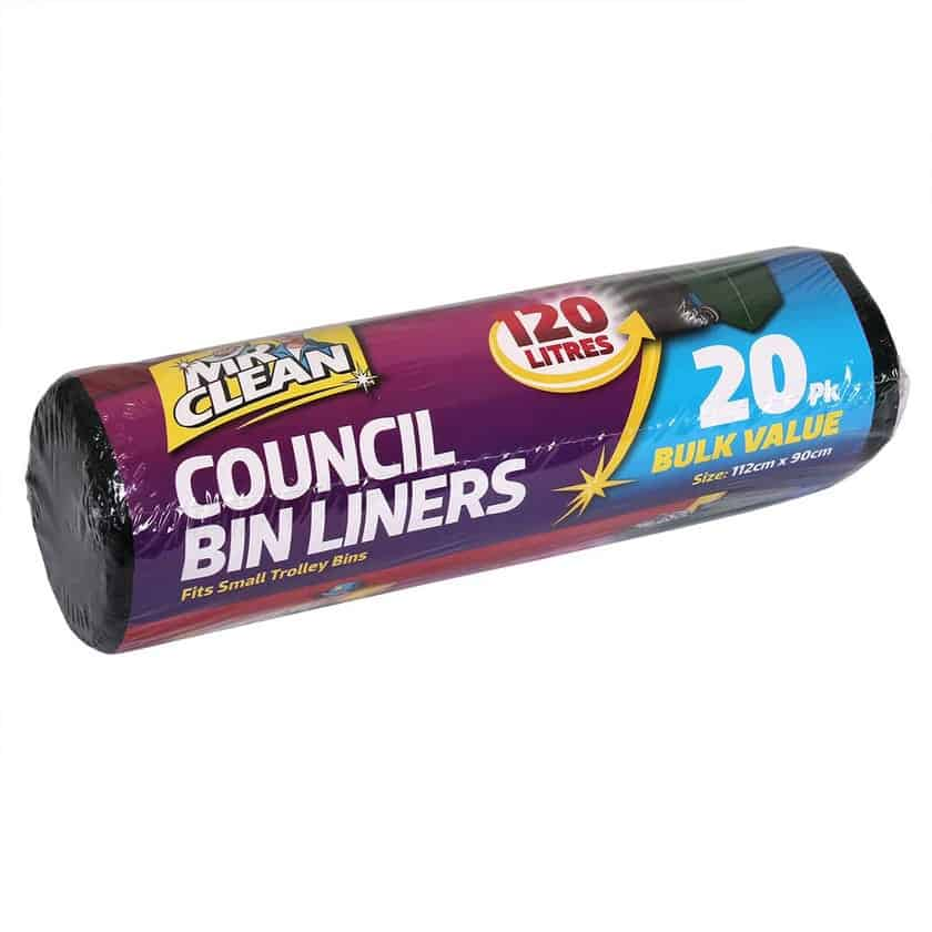 Picture of Council Bin Liner 20 pack roll