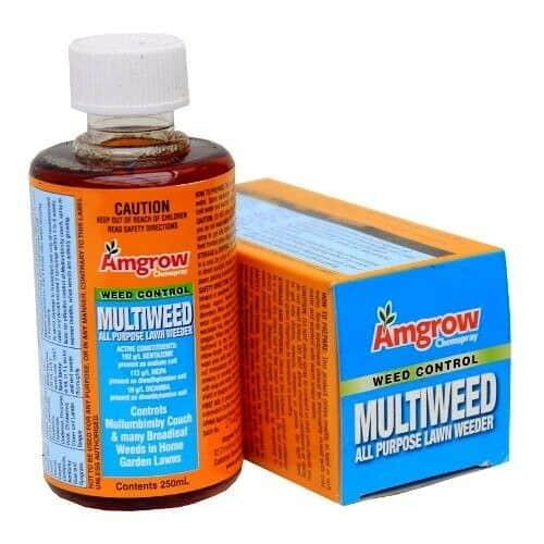 Lawn Weed Killer Amgrow MULTIWEED All Purpose Lawn Weeder